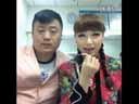 山庄保安队长宋晓峰与舞台演员赵文静合唱《心雨》