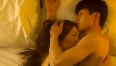 《对风说爱你》杨�v宁、郭碧婷激、情吻戏